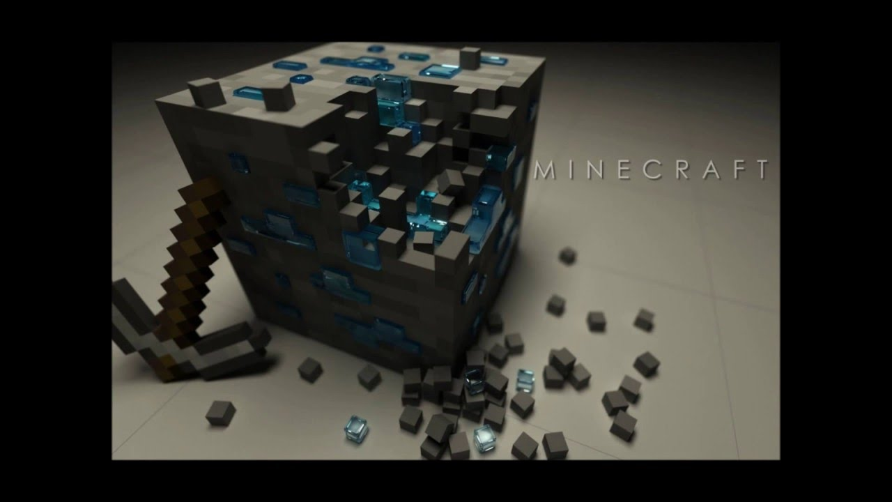 3d Cube Desktop Wallpaper 10 Coole Minecraft Bilder Youtube