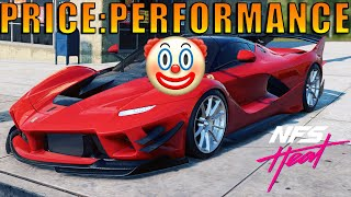 NFS Heat - FERRARI FXX-K Evo Fully Upgraded 400+ Ultimate+ Parts
