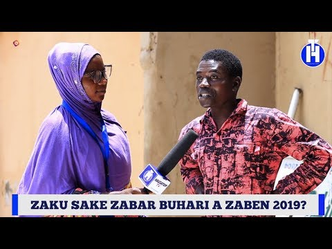 Zaku Sake Zabar Buhari A Zaben 2019?   Street Questions (EPISODE 33)