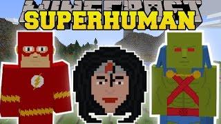 minecraft project superhuman mod super crazy abilities powers mod showcase
