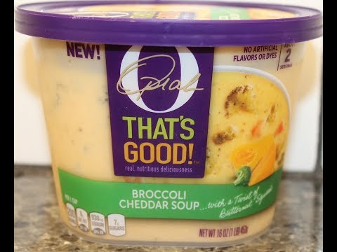 Oprah That's Good! Broccoli Cheddar Soup Review