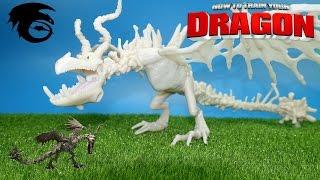 Как приручить дракона обзор на игрушку Костолом из серии Action Dragon How to train your dragon