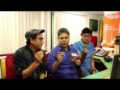 RJ MIR with Rudranil Ghosh And Kanchan Mallick at Mirchi Kol