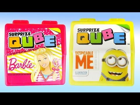 Видео, Миньоны Барби кубики с сюрпризами cool surprise