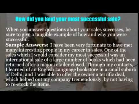 Sales advisor interview questions - YouTube - sales advisor interview questions