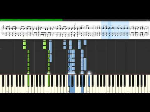 Queen - Under Pressure feat. David Bowie [Piano Tutorial] Synthesia
