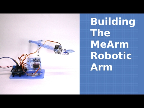 Building the MeArm Robotic Arm