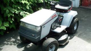 HOW TO TUNE UP Craftsman Lawn Tractor 12 HP Briggs & Stratton Engine