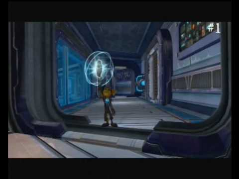 ryno v holo-plan locations for ratchet and clank: a crack in time, Schematic