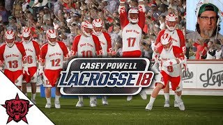 Casey Powell 18 - Lacrosse Video Game - Gameplay