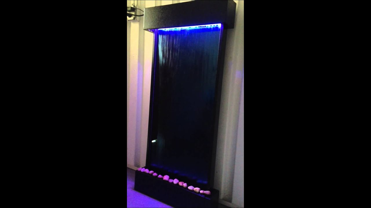 "xl 46""x22"" wall / floor waterfall from jersey home decor - youtube"
