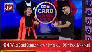 BOLWala Card Game Show | Best Moment  | 18th April 2019 | BOL Entertainment