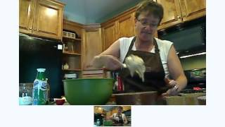 Baking Apple Caramel Cinnamon Coffeecake With Cris Welch