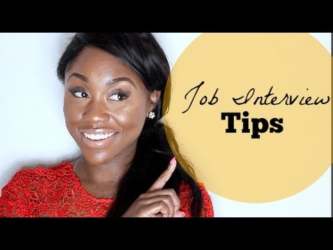 How to Get A Job + Job Interview Tips  | Shanese Danae
