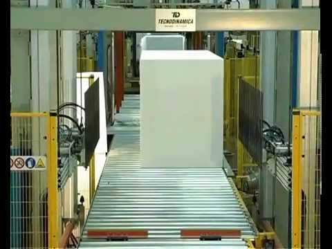Tecnodinamica - Fully Automatic Cutting Line For Expanded Polystyrene (EPS)