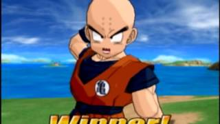 DragonBall Z: Budokai Tenkaichi (Ultimate Battle) Boss # 87: Krillin (Rematch)