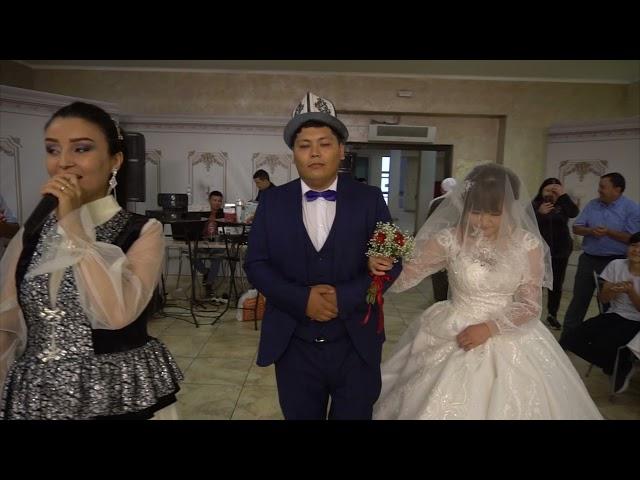 Свадьба Шамбет и Бегимай Кафе 21 08 21 KG YOUTUBE