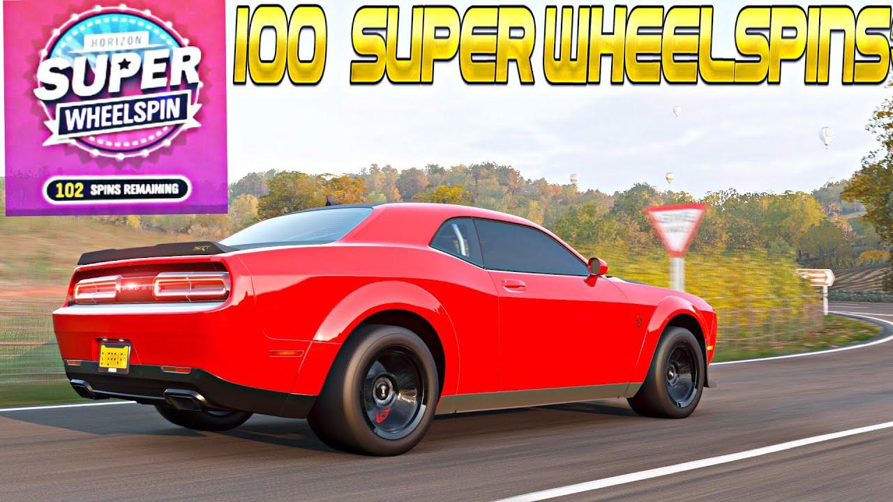 {Forza Horizon 4} Opening 100+ Super Wheel Spins (Rare Cars)