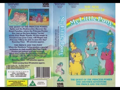 Download Original VHS Opening: The New Adventures of My Little Pony (UK Retail Tape)