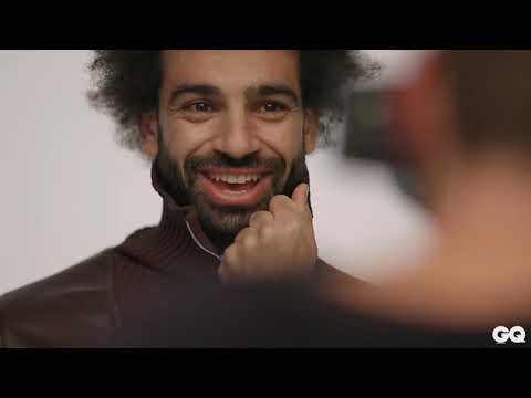 Mo Salah takes you behind the scenes of his cover shoot | GQ Middle East