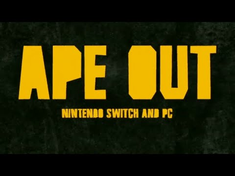 Ape Out Demo ASMR/Switch  