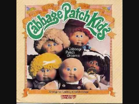 Vintage 1984 cpk cabbage patch kid christmas tape cassette in.