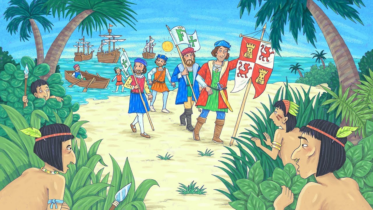 small resolution of The life story of Christopher Columbus - YouTube