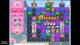 Candy Crush Level 1459 Audio Talkthrough, 1 Star 1 Booster