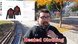 Venture Heat - Heated Clothing Hands-On in Central Park
