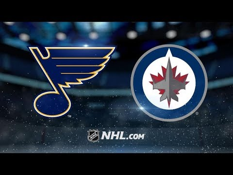 St. Louis Blues vs Winnipeg Jets - Oct.22, 2018 | Game Highlights | NHL 2018/19 | Обзор Матча
