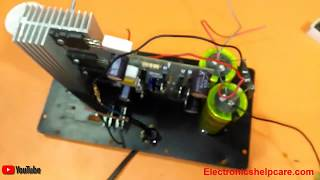 how to make a1943 and c5200 mini amplifier? how to make transistor amplifier? electronics