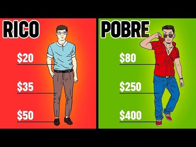 LAS DIFERENCIAS ENTRE POBRES Y RICOS