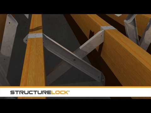 Structure Lock: 3D Rendering of I-Joist and Dimensional Truss Installation Process