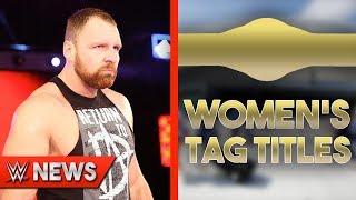 Dean Ambrose Heel Turn Details! Women's Tag Titles Coming?! - WWE News Ep. 187