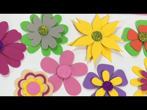 Flores En Fomi Youtube