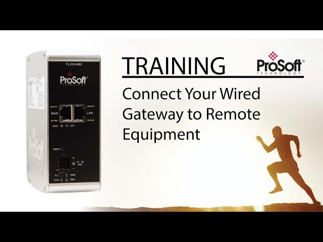 Set Up: Connect Your Wired Gateway to Remote Equipment