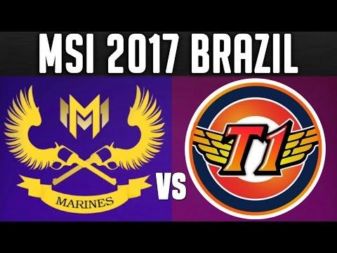 GAM vs SKT ( Amazing Game! ) MSI 2017 Day 3 - 2017 Mid Season Invitational Group Stage Day 3