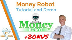 Money Robot Tutorial and Demo 2018 + BONUS