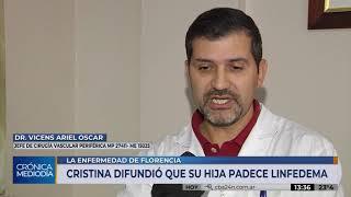 Florencia Kirchner se quedó en Cuba y padece enfermedad en su sistema linfático