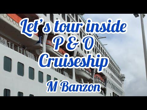 Let's Tour Inside P&O Explorer Cruiseship Sydney, Australia