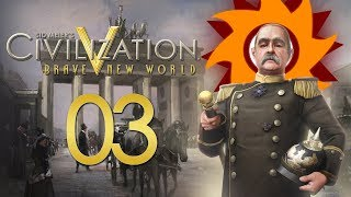 Civilization V Brave New World as Germany - Episode 3 ...Clean-Up...