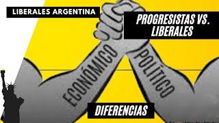 PROGRESISTAS VS LIBERALES: Diferencias