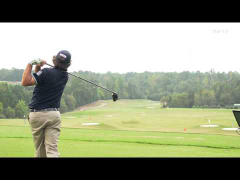 Jason Dufner's TrackMan Session - 2013 PGA Championship