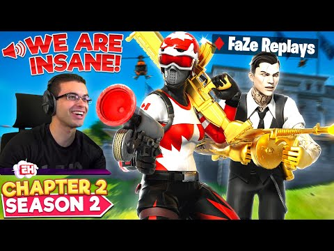 How Nick Eh 30 + FaZe Replays DOMINATED Fortnite Chapter 2!