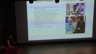 Arts & Lectures: VIOLENCE AGAINST WOMEN: A CASE STUDY FROM TURKEY