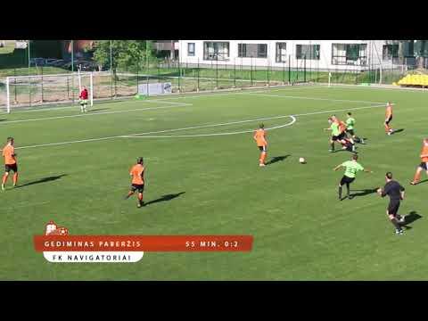 FK Ozas 1:2 FK Navigatoriai, Vilniaus m. III Lyga