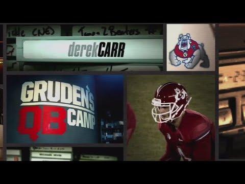 Watch Derek Carr in Gruden's QB Camp | ESPN Archives