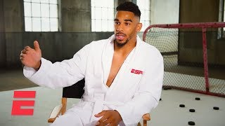 Take a look behind the scenes of san jose sharks winger evander kane's espn body issue shoot, and listen as he discusses family legacy that shaped his wo...