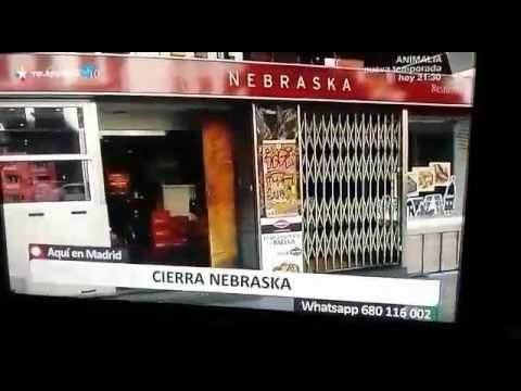 Cierre Cafeterías Nebraska Madrid