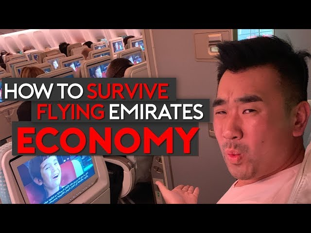 How to Survive Flying Emirates Economy Class (Top Tips)